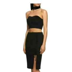 Kendall and Kylie Black crop size 8